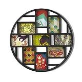 umbra 壁掛けフォトフレーム LUNA FRAME ART(ルナウォールフレーム アート) ブラック 2311120-040