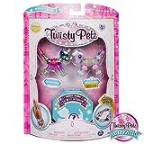 Twisty Petz - 3-Pack - キラキラポニー、ポージープードル、サプライズグッズブレスレットセット(子供用)