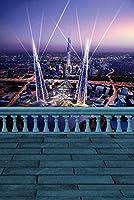 バルコニーLandscapeテーマビデオスタジオ背景コンピュータ印刷写真背景写真バックドロップCP _ g-093
