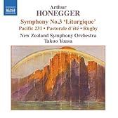オネゲル:交響曲第3番「典礼風」/「パシフィック231」/「ラグビー」