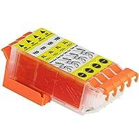 Epson エプソン ICY80L イエロー 単品4個セット 互換インクカートリッジ ICチップ付き