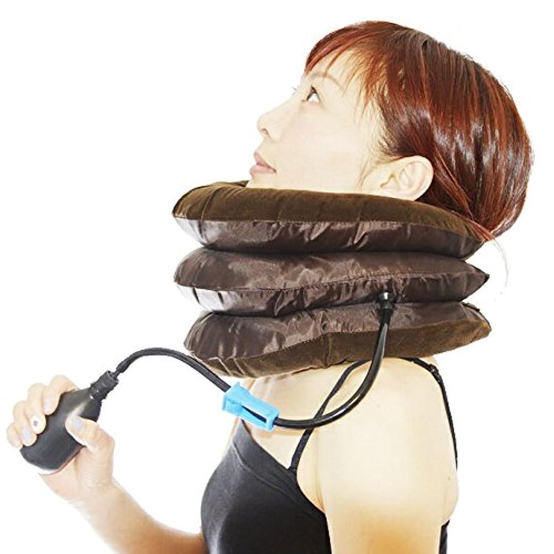 横フレアマキシムネックサポーター ネックストレッチャー 首枕 首伸ばし