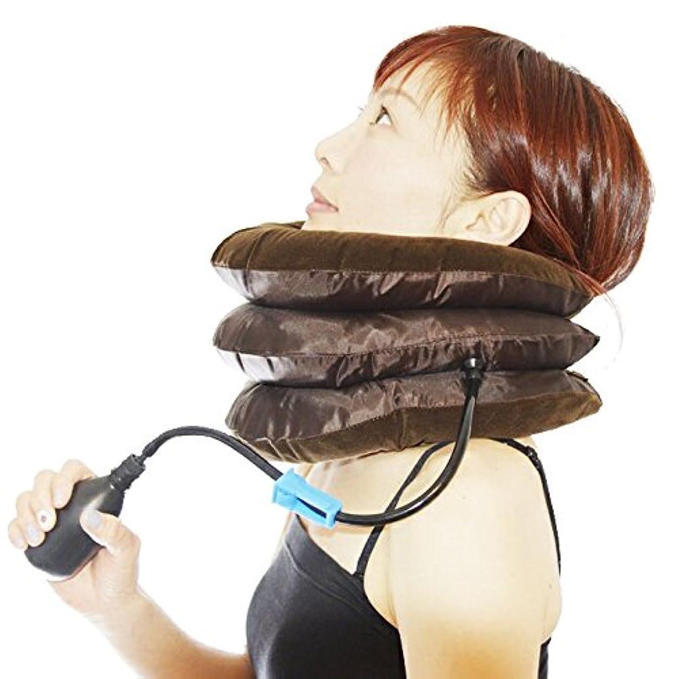 もつれジャーナル瞬時にネックサポーター ネックストレッチャー 首枕 首伸ばし