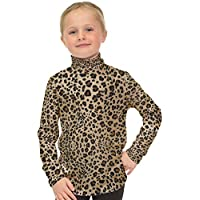 Stretch is Comfort Girl's Long Sleeve Cotton Turtleneck