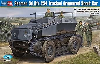 ホビーボス 1/35 ファイティングヴィークルシリーズ ドイツSd.Kfz.254 装輪装軌併用装甲車