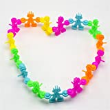 Felicely ブロック DIY ブロック スプライス 想像力と創造力を育てる知育おもちゃ 20個セットランダム色