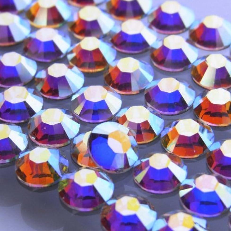 感謝している許されるクレデンシャルHotfixクリスタルオーロラss12(50粒入り)スワロフスキーラインストーンホットフィックス
