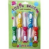 アニマル 歯ブラシ 5P セット (カエル)
