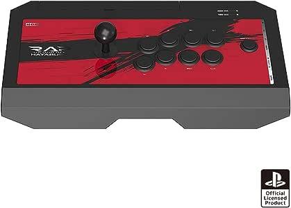 【PS5動作確認済】リアルアーケードPro.V HAYABUSA ヘッドセット端子付き for PlayStation®4/PlayStation®3/PC【SONYライセンス商品】