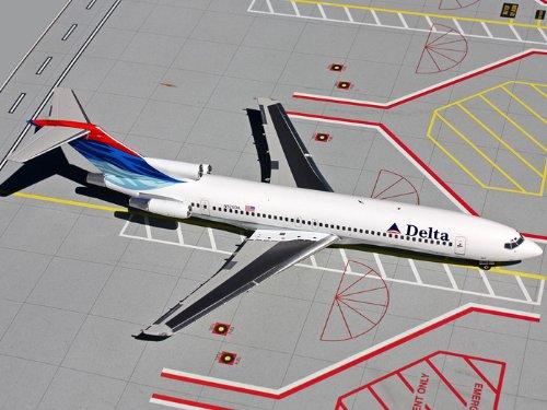 1: 200 ジェミニジェット Delta Air Lines ボーイング 727-200 Colors in Motion (並行輸入)