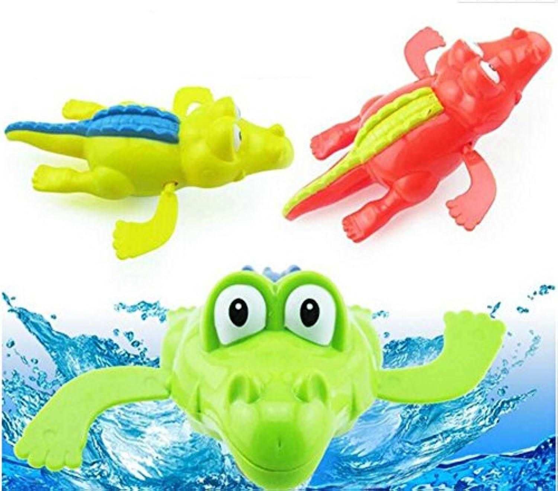 幼児期のゲーム 子供の鎖のおもちゃクリエイティブパズル鎖の漫画のおもちゃ(クロコダイルのスタイルのランダム)