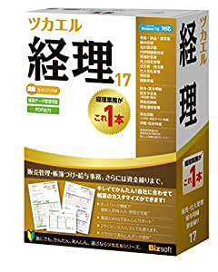 ビズソフト ツカエル経理 17 ガイドブック付