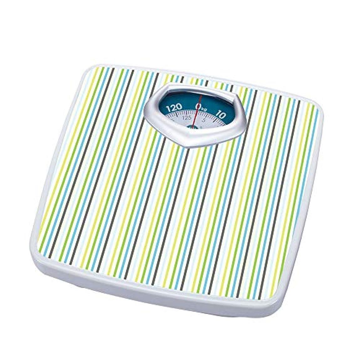 別に勇気のある池287ポンド(130キロ)、機械式バスルームスケール、高精度健康体重減少スケール、読みやすいアナログスケール