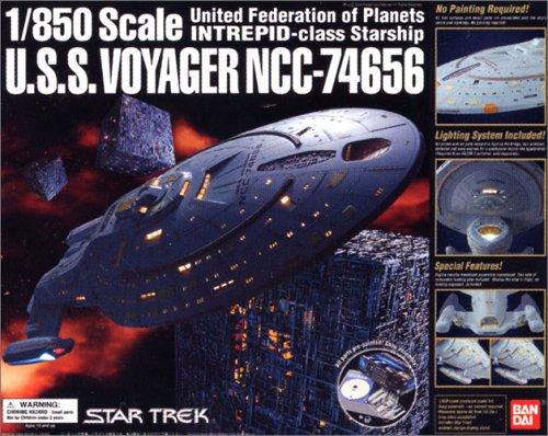 スタートレック 1/850スケール U.S.S.ヴォイジャーNCC-74656