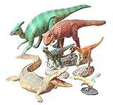 タミヤ 1/35 恐竜世界シリーズ No.07 小型恐竜セット プラモデル 60107 画像