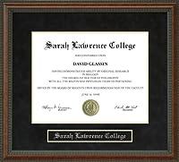 サラ・ローレンス大学SLC卒業証書フレーム ny-slc-91-burl