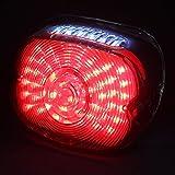 ハーレー テールランプ  ローハイト LEDテールライト  【 レッド 】 TNTL025R 減光機能 ナンバー灯付き HARLEY-DAVIDSON FXST/FLSTC/FLSTF/FLSTN/FLTDYNA(ALL)/XL(ALL)