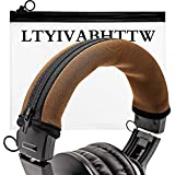 Replacement Headband Cover Compatible ATH M50X M50 M40X M40 M30X M20X Headphones (Brown)