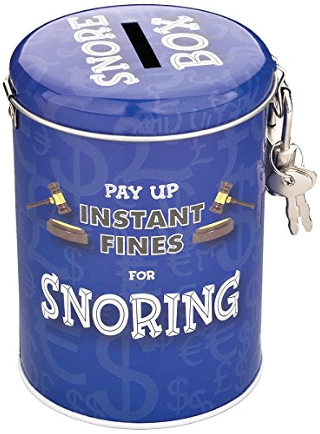 Boxer Gifts Instant Fines Pay Up Tin, Snoring