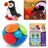 ベビートイ、シューズClues、Book & Friend Childrens Gift Bundle Ages 3 M + [ 4 Piece ]