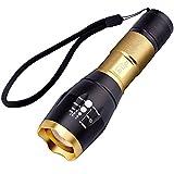 Br'Light 米CREE社製超高輝度LED使用 CREE-L2搭載 T6よりもっと明るい 超強光ズームライト (CREE-L2 ゴールド)