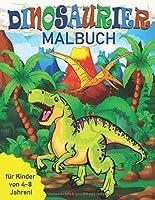 Dinosaurier-Malbuch fuer Kinder von 4-8 Jahren