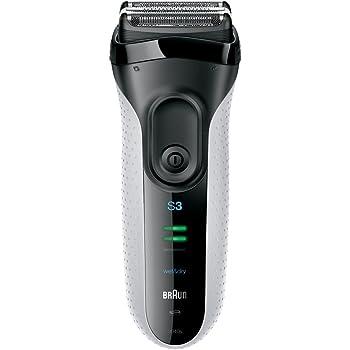 ブラウン シリーズ3 メンズ電気シェーバー 3枚刃 3040s-W ホワイト お風呂剃り可