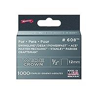 矢印ファスナー6081/ 2in。Heavy Duty Staples 1, 000/ボックス 4-Pack