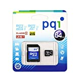 PQI JAPAN microSDXCカード UHS-I Class10 64GB MS10U11-64