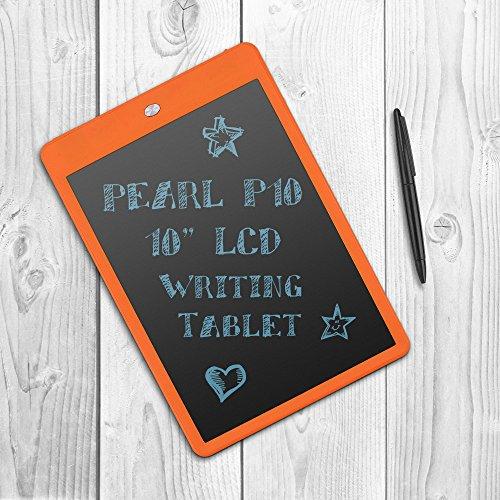 Parblo Pearl P10 電子メモパッド 電子手帳 電子メモ帳 デジタルペーパー デジタルメモ 10インチLCD Writing Tablet (オレンジ)