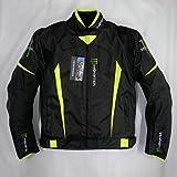 バイクジャケット 春 夏 秋 メッシュ ライダースジャケット レーシング 通気 耐摩 バイクウェア プロテクター装備 ナイロンジャケットMonster Energy (3XL) (¥ 6,980)
