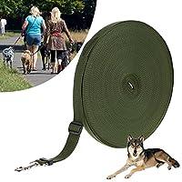 Tuankay 犬用リード ロングリード 犬用引きひも トレーニング用 小型 中型 大型 犬 外出 散歩