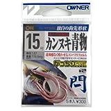 オーナー(OWNER) 閂[カンヌキ] フック 青物 15 16519 釣り針
