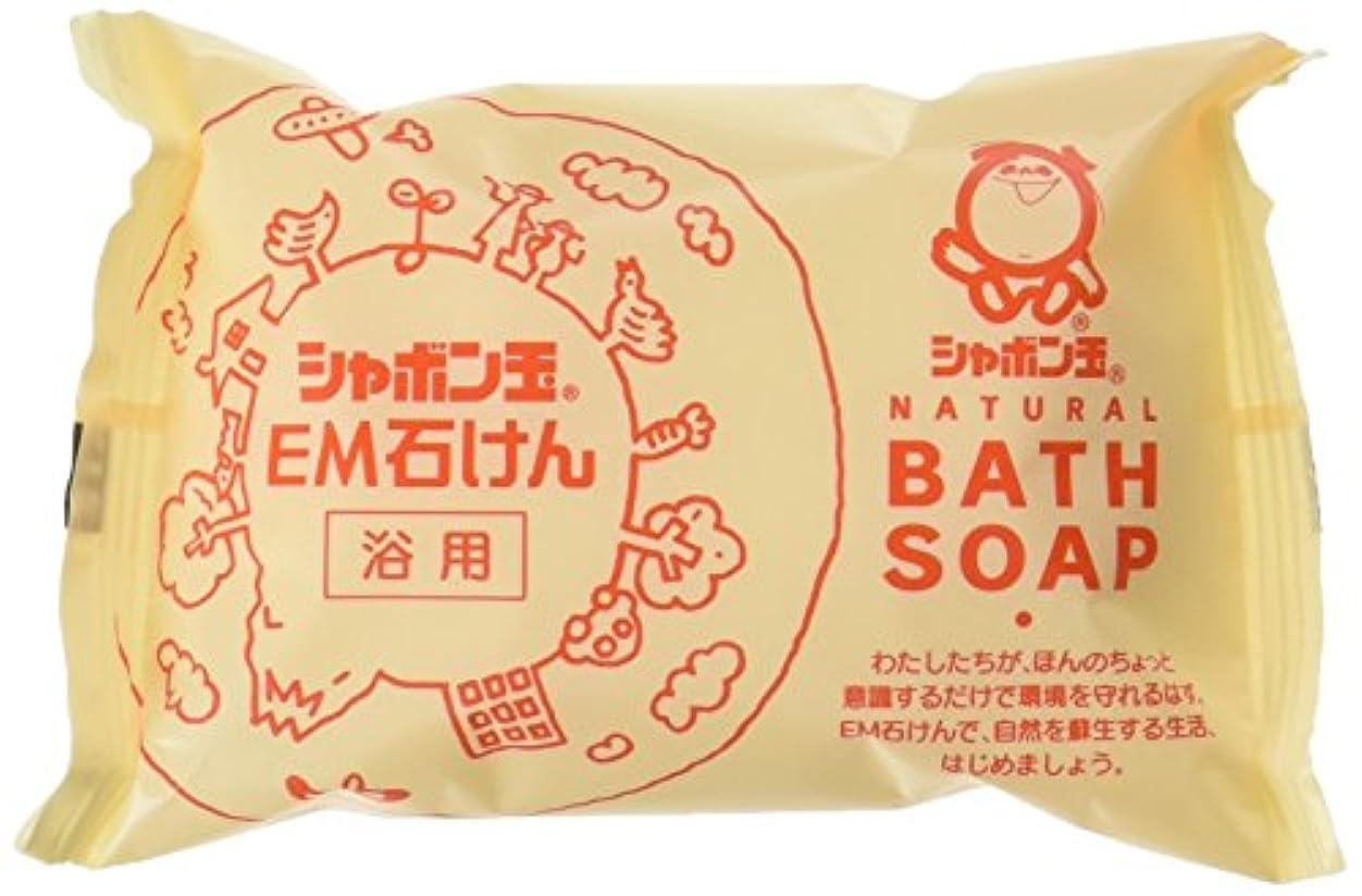 曲見える塩辛いシャボン玉EM化粧石けん(浴用)100g (10個セット)