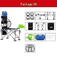 釣り椅子、人間工学に基づいた調整可能な多機能強力な折りたたみスツール (色 : Package#8)