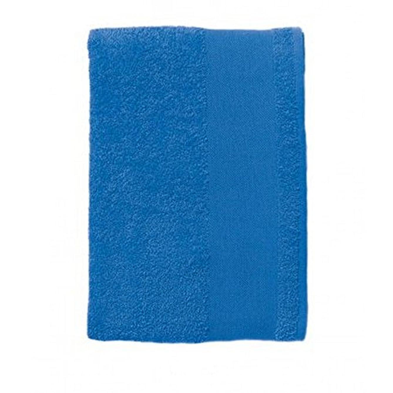 確認してくださいさせる医学(ソールズ) SOLS アイランド 30 コットン 綿100% ゲストタオル (30 x 50cm) (ワンサイズ) (ロイヤルブルー)