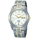 セイコー SEIKO チタン クオーツ メンズ 腕時計 SGG733P1 ホワイト 腕時計 海外インポート品 セイコー[逆輸入] mirai1-531529-ak [並行輸入品] [簡易パッケージ品]