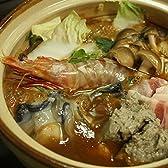 広島牡蠣(かき)土手鍋セット!(かきむき身500g、いわしのつみれ180g、えび(小)4尾、土手鍋の素1パック