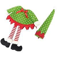 OUYOU ワインバッグ ボトルバック ボトル保護カバー クリスマス風 雰囲気満点 可愛い小物 不織布  可愛い  DIY  店舗飾り クリスマス用品