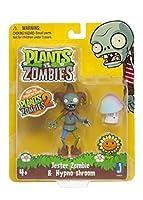 "Plants vs Zombies 3"" Jester Zombie with Hypnoshroomアクションフィギュアby Jazwares Domestic"