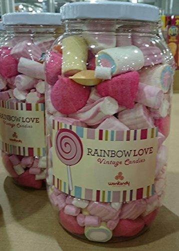 wonkandy RAINBOW LOVE(vintage candies)ウォンキャンディー レインボーラブ マシュマロ 730g