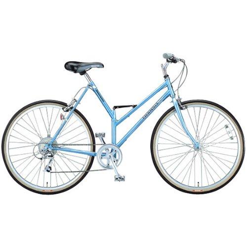 ブリヂストン(BRIDGESTONE) トランジットスポーツG26 TSG268 スーパーブルー 折りたたみ自転車