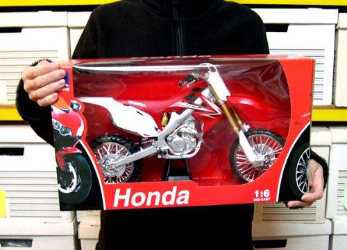 NewRay 1/6 Honda CRF450R 2010 1:6/赤/レッド