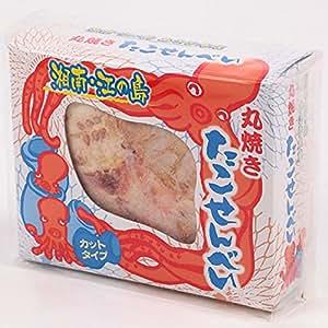 あさひ本店 江の島丸焼きたこせんべい (カットタイプ 箱入) 江ノ島 タコせんべい お取り寄せ お土産 | せんべい・米菓 通販