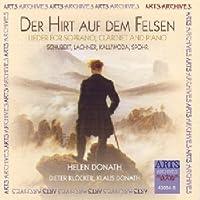 Lieder for Soprano Clarinet & Piano