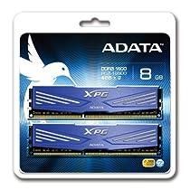 ADATA USA XPG V1.0 OC Series 8GB DDR3 1600MHZ PC3 12800 4GBx2, Dark Blue AX3U1600W4G11-DD by ADATA USA [並行輸入品]