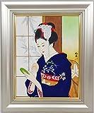 日本画 宮下柚葵 『コンパクト』 F6号