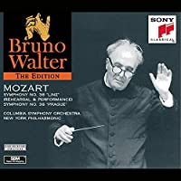 Bruno Walter Edition - Mozart: Symphony no.36 (Rehearsal and Performance) and Symphony no. 38