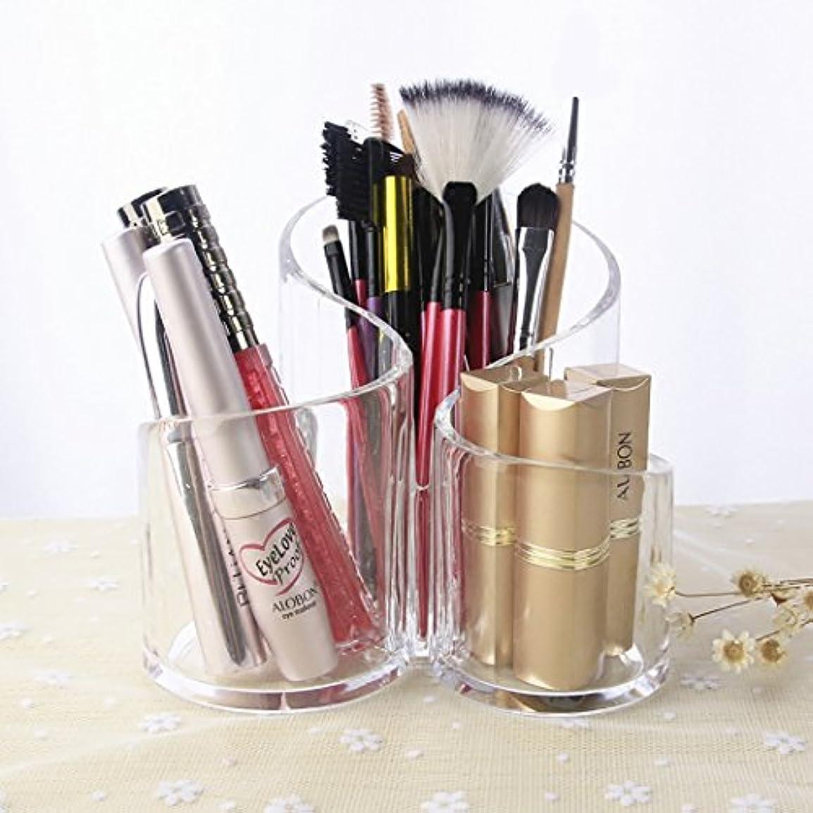 良い適応する明らかBEMOTION 化粧収納ボックス メイクケース コスメ収納スタンド 引き出し小物 化粧品入れ 透明色 (D)