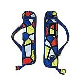 (ケイスマ) 太鼓の達人 バチ ドラムスティック ケース 袋 4本収納可能 (2セット) 【ケイスマオリジナルセット】 MBC-10